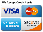 Handyman we accept credit cards