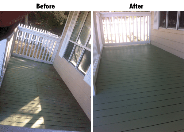 Porch & Deck Restoration - Cedar Park, TX