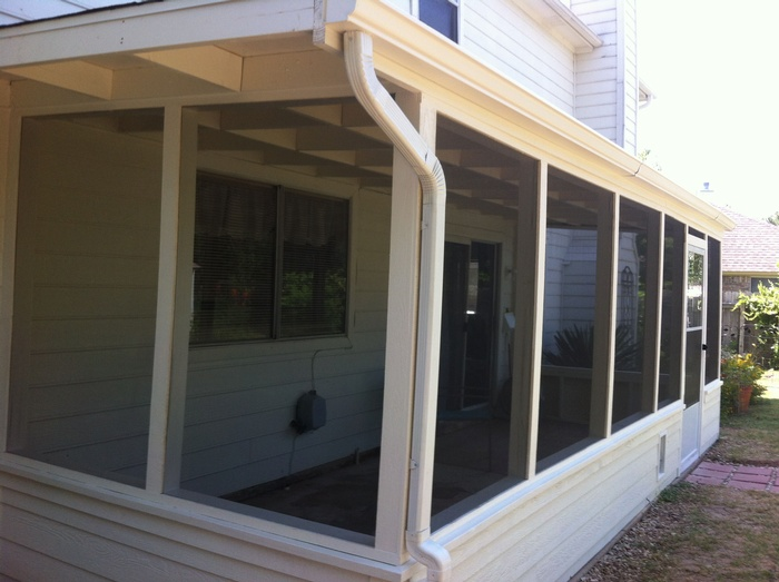 Porch Enclosure - Leander, TX
