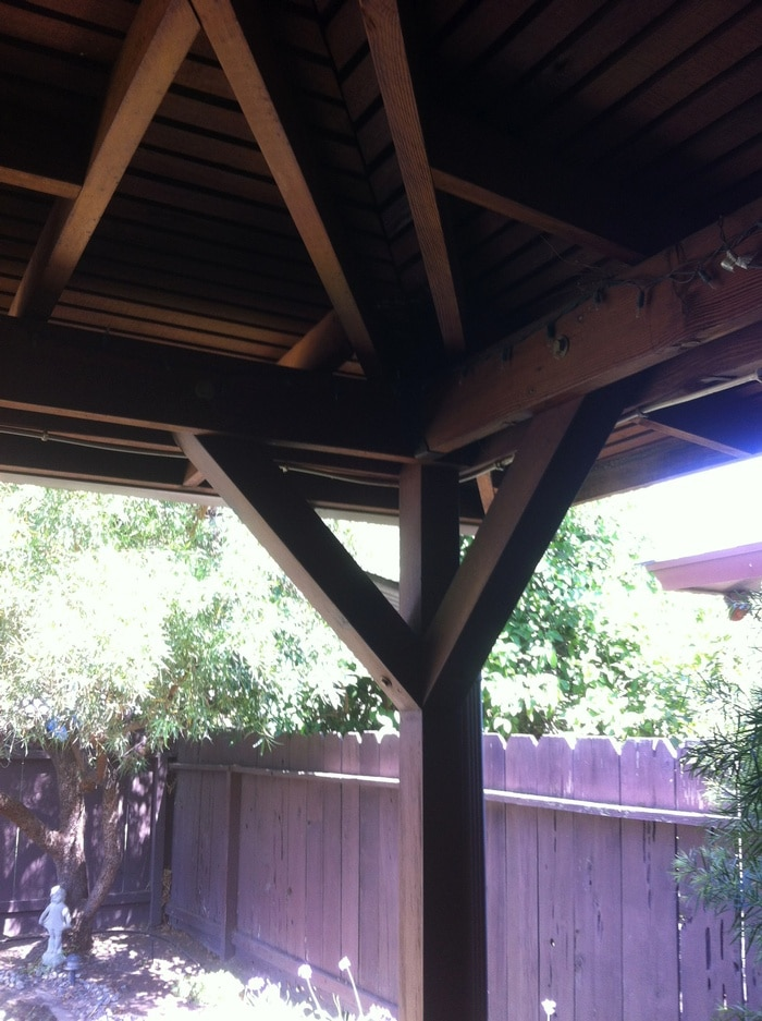 Redwood Porch Enclosure - Lago Vista, TX