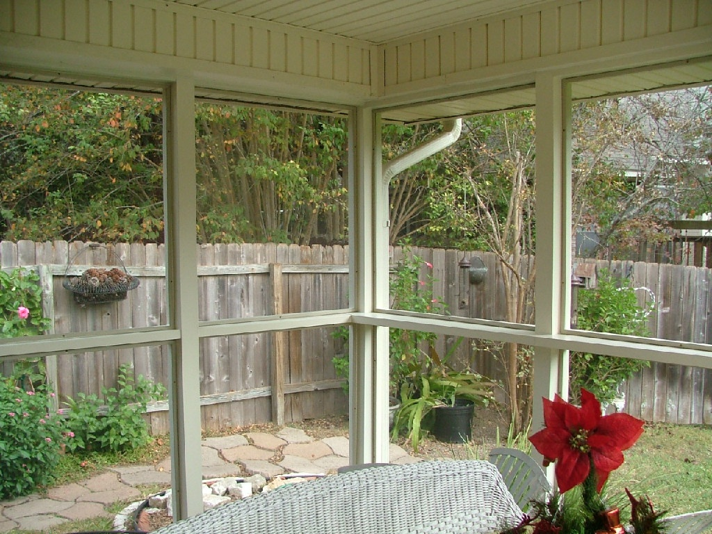 Screened Porch Addition - Leander, TX