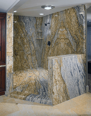 Granite Shower Walls - Cedar Park Leander Lago Vista, TX
