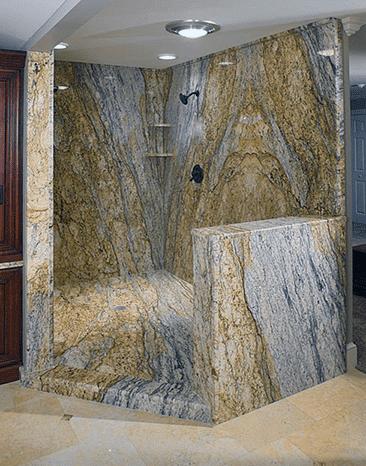 Granite Shower Walls - Cedar Park Leander Lago Vista, TX
